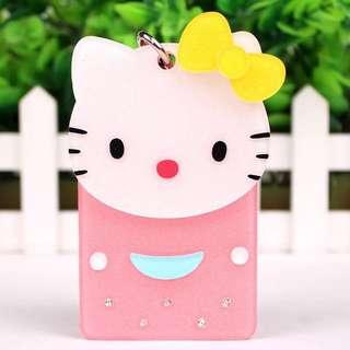 Cute Shining Bus MRT Card Holder