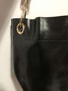 黑色手袋 全新 冇用過 有長帶短帶