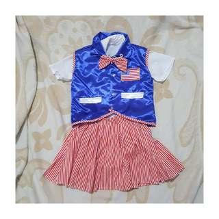 USA Inspired Costume for Girls