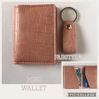 Men's Wallet & Key Chain