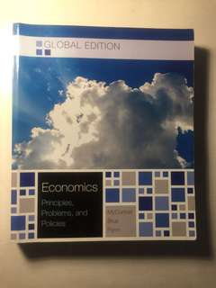 Economics Principles, Problems, and Policies 20th Edition