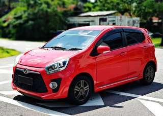 Perodua Axia 1.0 auto KL Selangor