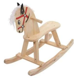 Wooden Rocking Horse Classic Toy