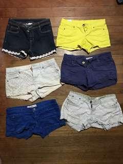 Assorted shorts bundle