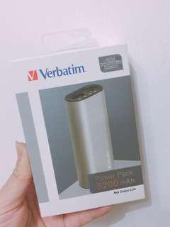 Verbatim 5200mah 流動充電器