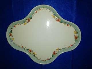 Vintage unusual big plate
