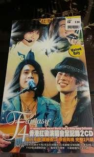 Vic Chou With F4 Fantasy Live Concert World Tour At Hong Kong Coliseum