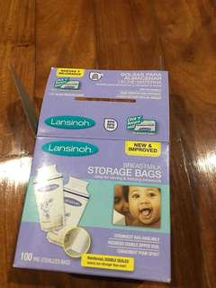 Lansinoh breastmilk storage bags 45pcs