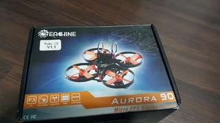 Eachine Aurora 90 90mm Mini FPV Racer RO Drone BNF w/ F3 OSD 10A BLheli_S Dshot600 5.8G 25MW 48CH Frysky