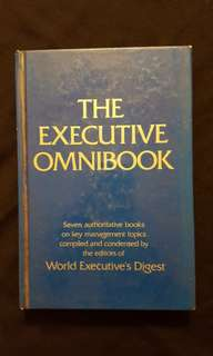 THE EXECUTIVE OMNIBOOK ~ Seven Authoritative Books on Key Management topics