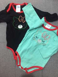 Baby Rompers - set of two