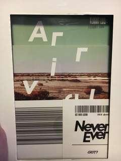 Got7 Never Ever CD (Bambam)