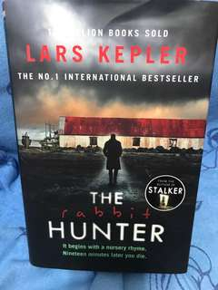 Lars Kepler - the rabbit hunter ( hardcover)