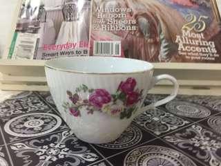 Teacup pink roses
