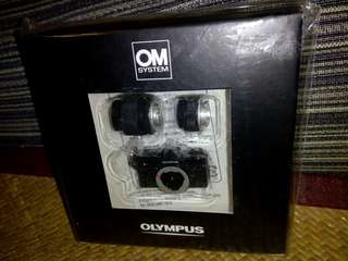Olympus camera set box