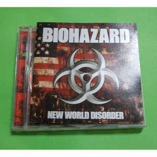 CD BIOHAZARD : NEW WORLD DISORDER ALBUM (1999) HARDCORE PUNK RAPCORE