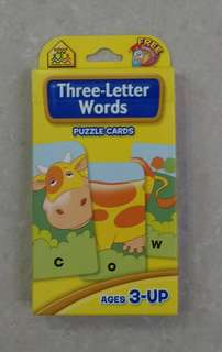 {Free NM} Learning Resources - Three-Letter Words / Adjectives
