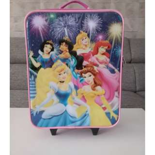 Kid's Disney Luggage Bag (20 inches) - Preloved in Good Condition