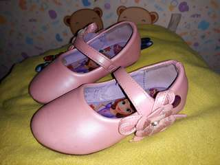 Sofia the first pink shoes 9-12mos