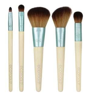EcoTools, Stay Matte & Beautiful Brush Collection, 5 Piece Set