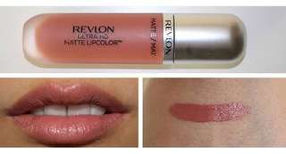 Revlon matte lip cream