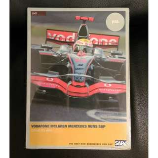 Vodafone Mclaren Mercedes Runs DVD / F1 Collectible / Memorabilia