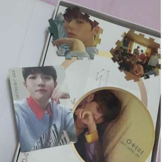 Wanna one official IPU day & night version loose item