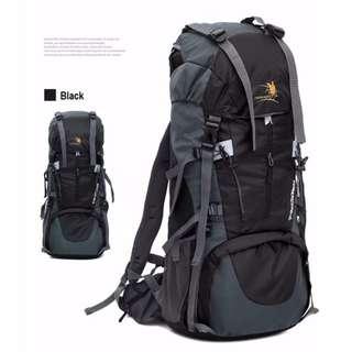 65L + 5L Free Knight ll Travel Backpack Bag