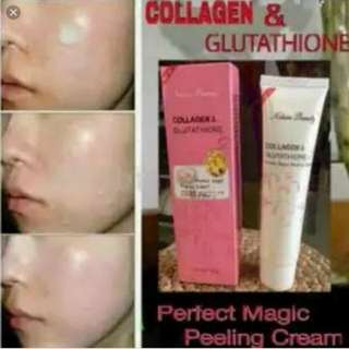 Collagen&Glutathione magic peeling cream