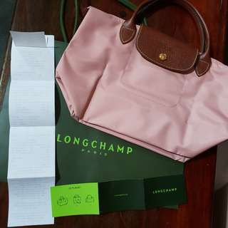Free Shipping!!! Longchamp Greenbelt SSH Pinky