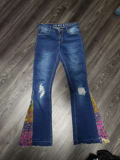 Almost new bell bottom bootcut jeans