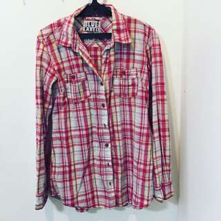 Folded & Hung Checkered Top