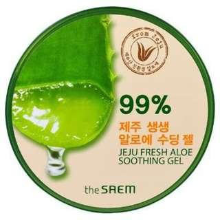 The Saem Jeju Fresh Aloe Vera Shooting Gel 99%
