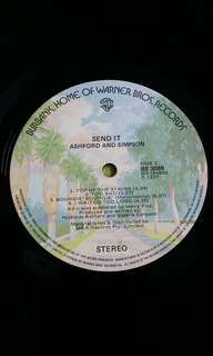 ASHFORD AND SIMPSON . send it . Vinyl record
