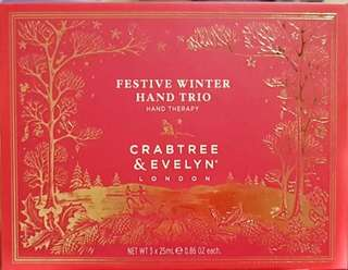 BN Crabtree & Evelyn Winter Trio Hand set