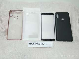 Redmi Note 5, Screen Protectors and Mobile cases