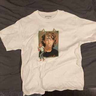 🚚 Fucking awesome t恤 t-shirt 白 Gino tee 男孩 L