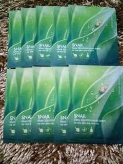 Nature Republic 'Snail Solution Mask Sheet'
