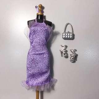 Barbie Complete Set Look Lavender