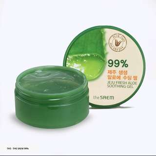 The saem jeju fresh aloe vera shooting gel 99%