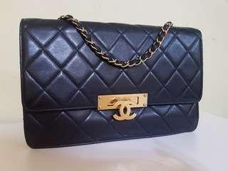 Authentic Chanel Golden Class medium size