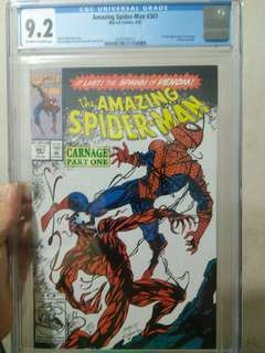 Amazing Spider-man 361 CGC 9.2