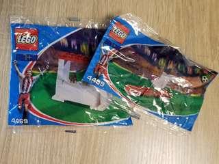 罕有Lego 2002年出口商品 足球配件