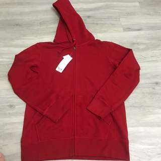 Uniqlo Hoodie red
