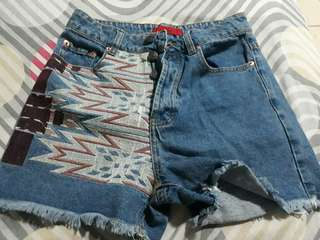 Maomg boho shorts