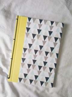 IKEA TJENIS Blank Notebook