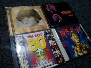 Set U2 Erasure 80sParty Album Metropolis