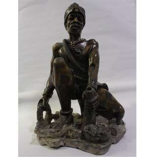 Stone carving/sculpture/antique from Zimbabwe, South Africa known as Shona art style. Chief