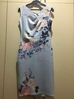 Neoprene Fit Dress
