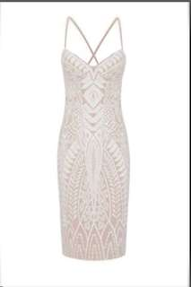 Sheike: Brand new bliss lace dress in ivory